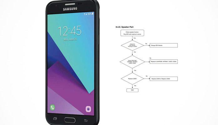 Samsung Galaxy J3 Prime Sm J327a Schematics