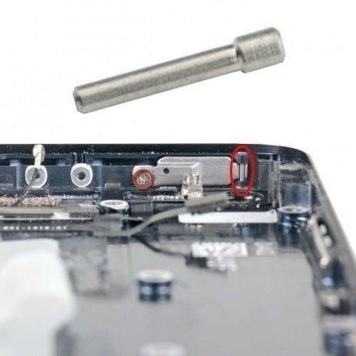 iPhone 5 virtanäppäimen pinni
