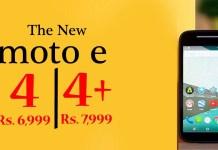 """Lenovo unveils Moto E4, Moto E4 plus"""