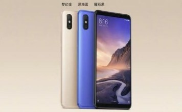 Xiaomi Mi Max 3 Specifications outed by Xiaomi President Lin Bin