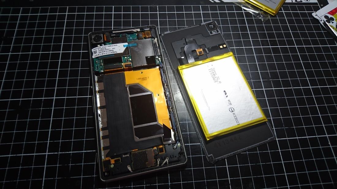 Sony Z3換電池 - Phone Pad Fix P.P棧 手機維修
