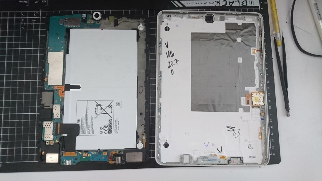 三星TAB S2 T810換充電小板 - Phone Pad Fix P.P棧 手機維修