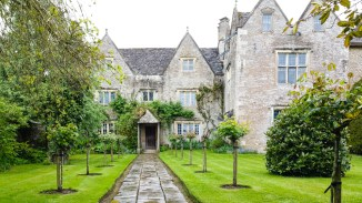 Exterior of manor