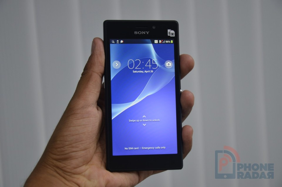 Sony Xperia M2 Dual Hands-on