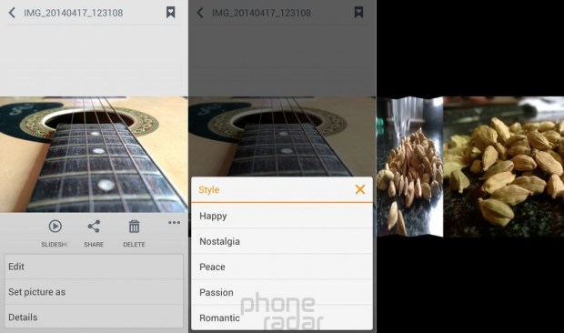 Gionee Elife E7 Slideshow