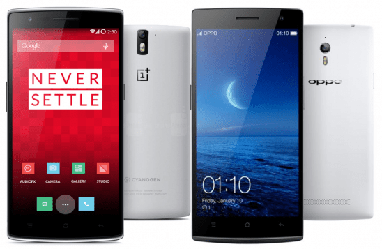 OnePlus-One Oppo Find7a Phone