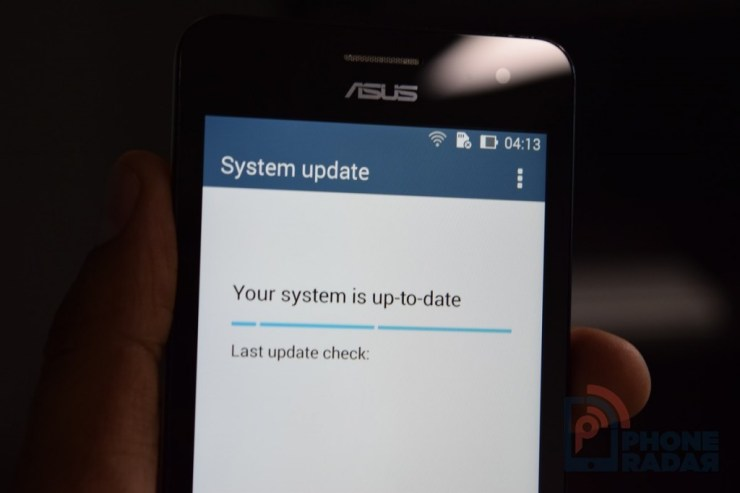 Asus Zenfone 5 Tip Software Update