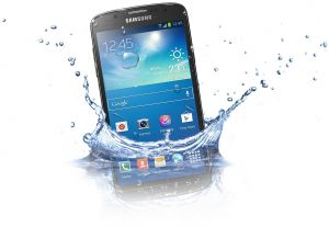 Samsung Galaxy S4 Active UnderWater
