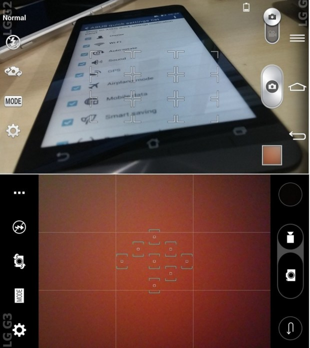 LG G3 Vs LG G2 camera icons 7
