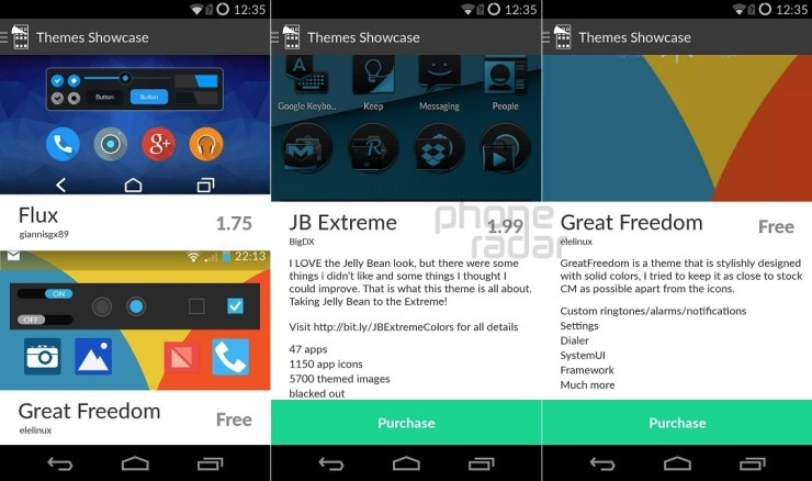 OnePlus One Interface Theme