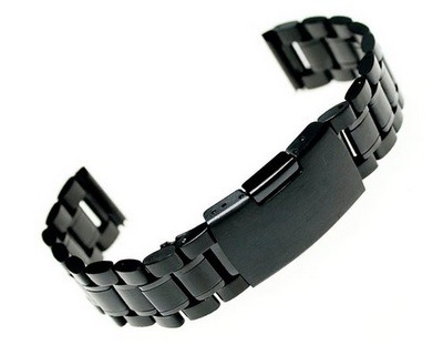 Ritchie 22mm Stainless Steel Bracelet Watch Band Strap