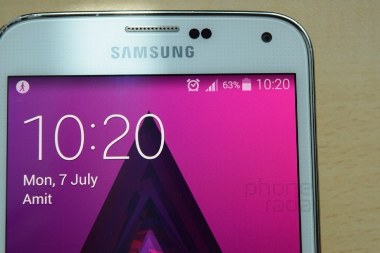 Smartphone Display Test Galaxy S5