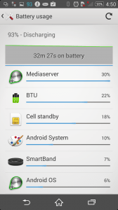 Xperia Z2 battery with 1080p 2