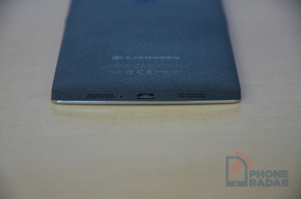 OnePlus One Sandstone Black Bottom