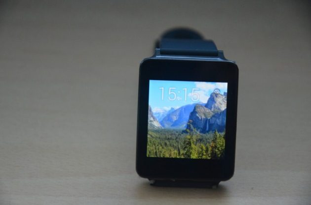 LG G Watch - Home Screen