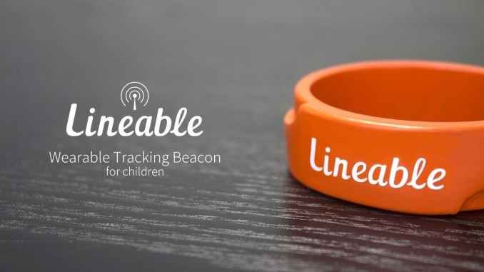 Lineable Wearable Tracker