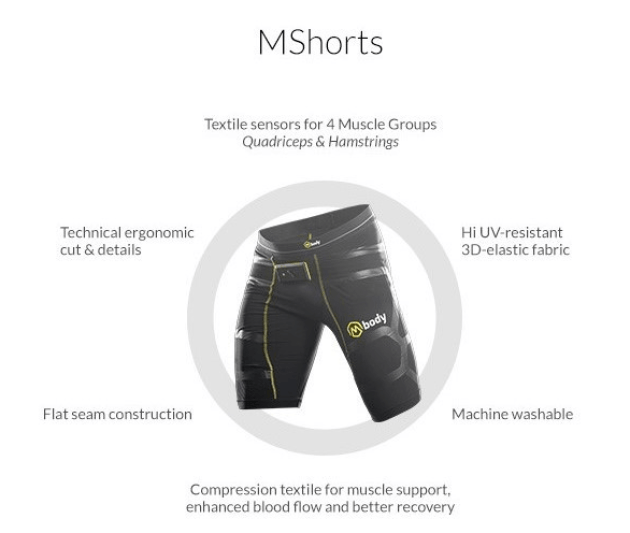 Mynotec MBody Smart Shorts
