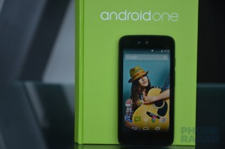 Spice Android One Dream Uno Front Gallery