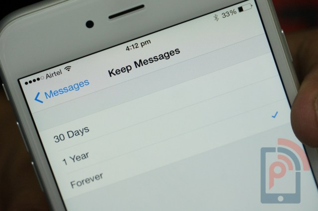 Apple iPhone 6 Tip Delete Messages