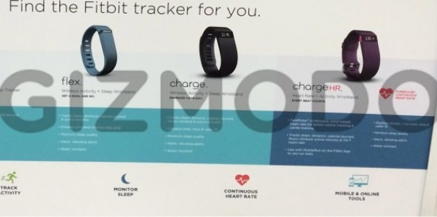 Fitbit Charge and Charge HR