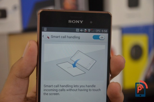 Sony Xperia Z3 - Smart Call Handling