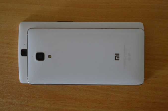 Xiaomi Mi4 vs OnePlus One Size