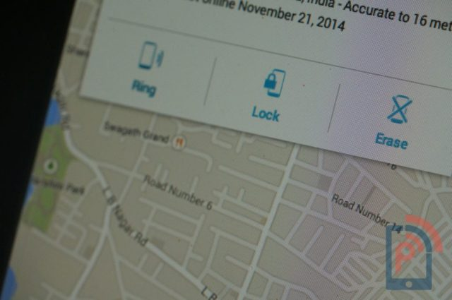 Android Device Manager Options