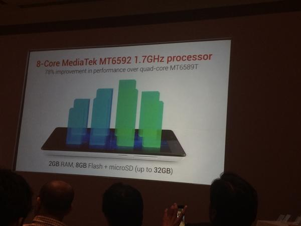 Xiaomi Redmi Note Processor