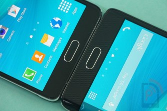 Galaxy Note 4 vs Note Edge Front Bottom