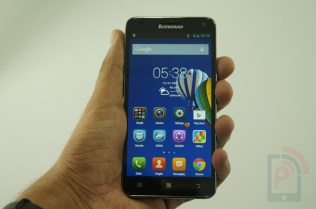 Lenovo S580 Hands-on Front