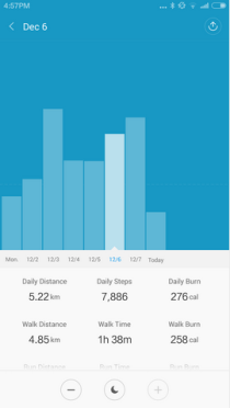 Mi Band App - Android (2)