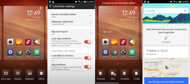 Xiaomi Redmi Note Launcher