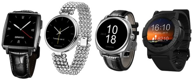 Omate Roma & Racer Smartwatches