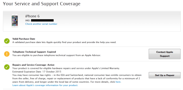 Service and Support for Apple Product