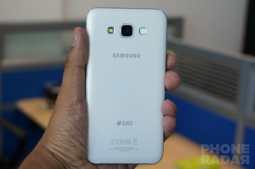 Samsung Galaxy E7 Back