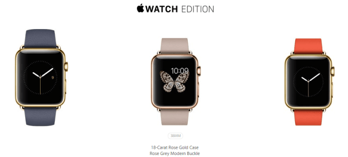 Apple Watch Edition - 38mm 18-carat