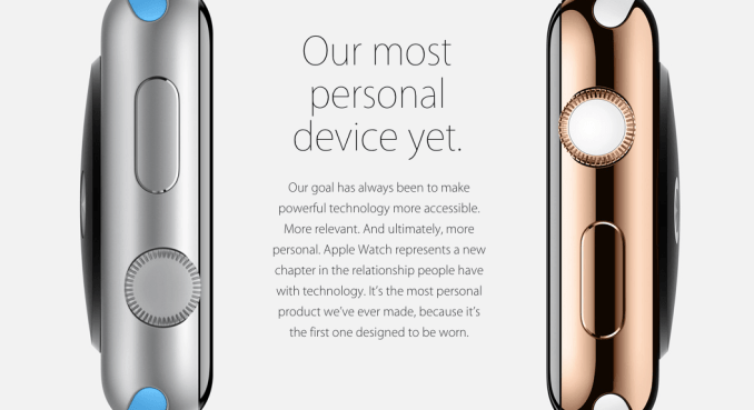 Apple Watch Statement