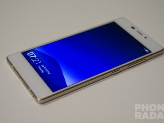 Gionee Elife S7 Hands-on Front
