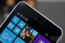 Microsoft Lumia 640 XL Front Top