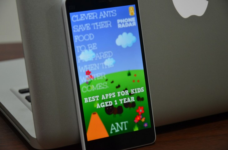 Best Android Apps for 1 Year Olds