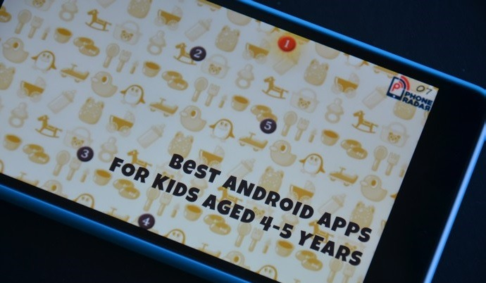 Best Android Apps for Kids Aged 4-5 Years Old
