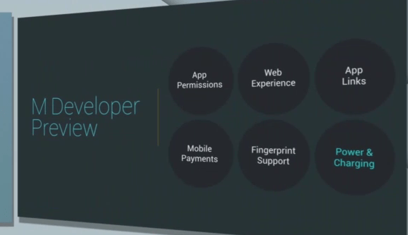 Top features in Android M