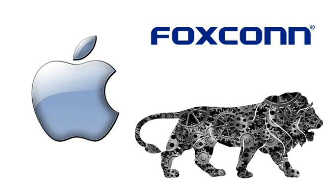 Foxconn Apple iPhone in India