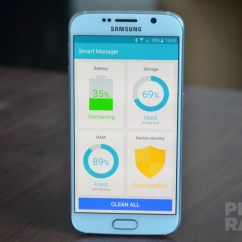 Samsung Galaxy S6 Smart Manager