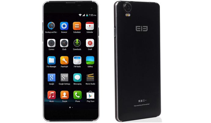 Elephone G7 - Front and Back