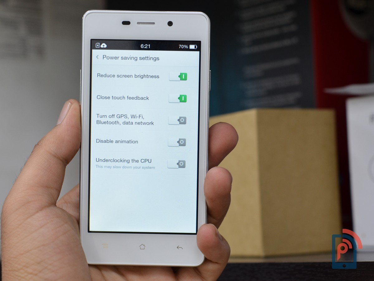 Oppo Joy 3 - Power Saving Modes