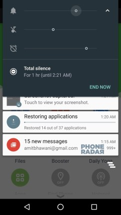 Android M Marshmallow Total Silence