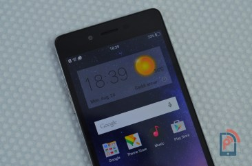 Oppo Mirror 5 - Display Closer Look