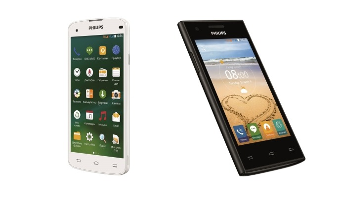 Philips I908 and S309 smartphones