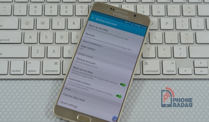 Samsung Galaxy Note 5 - Factory Reset